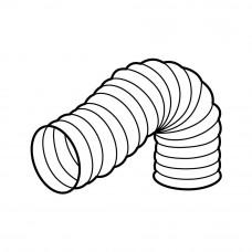 366 - kulaté flexo potrubí PVC