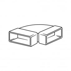 950 - horizontální koleno 90° (Příslušenství k odsávačům) na www.housemode.cz