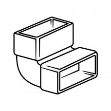 560 - vertikální koleno 90° (Příslušenství k odsávačům) na www.housemode.cz