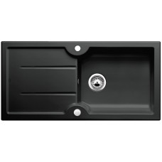 Blanco IDESSA XL 6 S Keramika černá oboustranné provedení s excentrem (Keramické dřezy SYSTEMCERAM) na www.housemode.cz