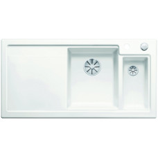 Blanco AXON II 6 S InFino Keramika zářivě bílá dřez vpravo s excentrem přísluš. ano (Dřezy) na www.housemode.cz