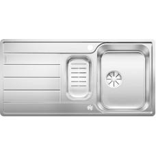 Blanco CLASSIMO 6 S-IF InFino nerez kartáčovaný oboustr. prov. s exc. PushControl s miskou (Dřezy) na www.housemode.cz