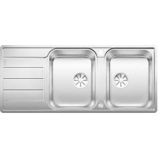 Blanco CLASSIMO 8 S-IF InFino nerez kartáčovaný oboustr. prov. s exc. PushControl (Dřezy) na www.housemode.cz
