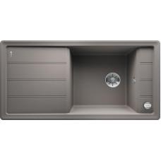 Blanco FARON XL 6 S InFino Silgranit aluminium oboustranný s excentrem (Dřezy) na www.housemode.cz