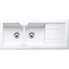 Blanco IDESSA 8 S Keramika zářivě bílá dřez vlevo