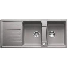 Blanco LEXA 8 S InFino Silgranit aluminium oboustranný s excentrem (Dřezy) na www.housemode.cz