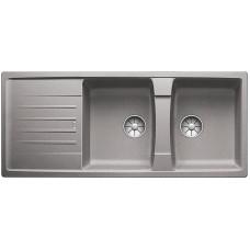 Blanco LEXA 8 S InFino Silgranit aluminium oboustranný bez excentru (Dřezy) na www.housemode.cz
