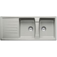 Blanco LEXA 8 S InFino Silgranit perlově šedá oboustranný bez excentru (Dřezy) na www.housemode.cz