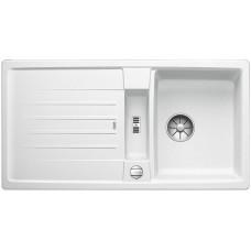 Blanco LEXA 5 S InFino Silgranit bílá oboustranný s excentrem (Dřezy) na www.housemode.cz