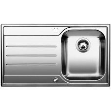 Blanco MEDIAN 45 S Nerez kartáčovaný dřez vpravo s excentrem