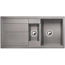 Blanco METRA 6 S Silgranit aluminium oboustranné provedení přísluš. ano (Granitové) na www.housemode.cz