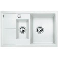 Blanco METRA 6 S Compact Silgranit bílá oboustranné provedení s excentrem (Granitové) na www.housemode.cz