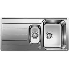 Blanco LEMIS 6 S-IF nerez kartáčovaný s excentrem (Dřezy) na www.housemode.cz