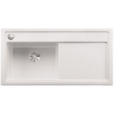 Blanco ZENAR XL 6 S-F InFino Silgranit bílá dřez vlevo s exc. a kráj.deska sklo (Dřezy) na www.housemode.cz