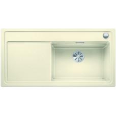 Blanco ZENAR XL 6 S-F DFG InFino Silgranit bílá skála dřez vpravo s exc.+deska sklo (Dřezy) na www.housemode.cz