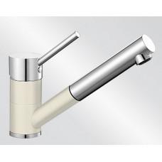 Blanco ANTAS-S HD Silgranit-look dvoubarevná jasmín/chrom