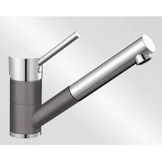 Blanco ANTAS-S HD Silgranit-look dvoubarevná šedá skála/chrom
