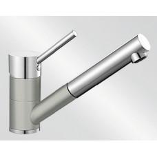 Blanco ANTAS-S HD Silgranit-look dvoubarevná perlově šedá/chrom (Baterie) na www.housemode.cz