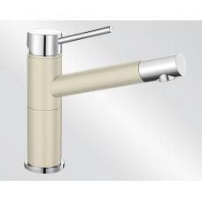 Blanco ALTA Compact Silgranit-look dvoubarevná jasmín/chrom