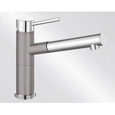 Blanco ALTA-S Compact Silgranit-look dvoubarevná aluminium/chrom (Baterie granitové) na www.housemode.cz