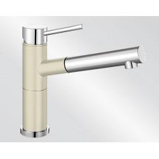 Blanco ALTA-S Compact Silgranit-look dvoubarevná jasmín/chrom (Baterie) na www.housemode.cz