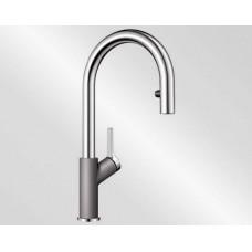 Blanco CARENA-S Vario aluminium/chrom (Baterie granitové) na www.housemode.cz