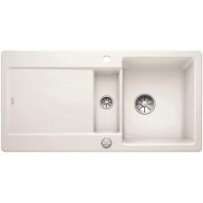 Blanco IDENTO 6 S-F Keramika InFino zářivě bílá lesklá oboustranný s excentrem (Dřezy) na www.housemode.cz