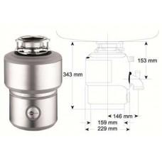 Drtič M 200 evolution - ISE s pneu spínačem/chrom (záruka 6 roků)
