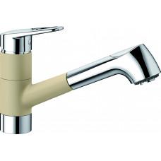 Blanco NOTIS-S HD Silgranit-look dvoubarevná béžová champagne/chrom (Baterie granitové) na www.housemode.cz