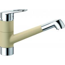 Blanco NOTIS HD Silgranit-look dvoubarevná béžová champagne/chrom (Baterie granitové) na www.housemode.cz