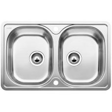 Blanco LANTOS 8-IF Compact nerez kartáčovaný bez excentru (Dřezy) na www.housemode.cz