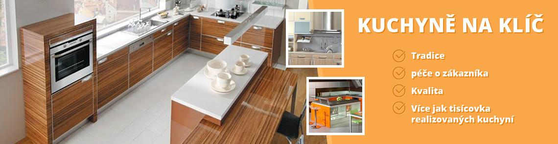 Kuchyně na klíč - Nový Jičín