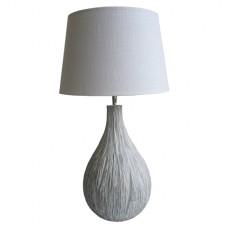 White Drip - stolní polyresinová lampa