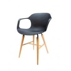 Černé křesílko  1-CR34S-B+CR800 (Židle a barové židle) na www.housemode.cz