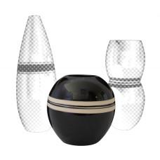 Deluxe - keramická váza 12cm (Bytové doplňky) na www.housemode.cz
