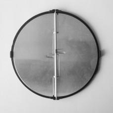Zpětná klapka s rámečkem 125 mm