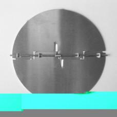 Zpětná klapka bez rámečku 100 mm