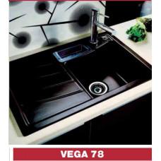 Keramický dřez Systemceram VEGA 78 bez excentru