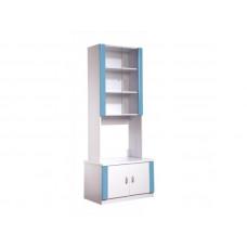 Knihovna DIANA dvoudvéřová modrá