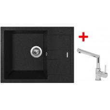 Sinks AMANDA 650 Granblack+MIX 350P