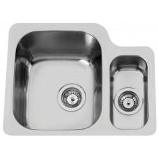 Sinks DUO 571.1 V 1,0mm levý leštěný