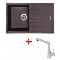 Sinks BEST 780 Marone+MIX 350P