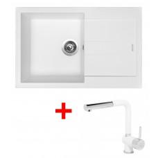Sinks AMANDA 780 Milk+MIX 3P GR