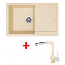 Sinks AMANDA 780 Sahara+MIX 3P GR